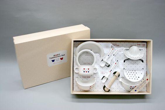【楽天市場】BABYCASTLE/赤ちゃんの城ギフトセット(BOX付)/食器セット:チロルwebshop