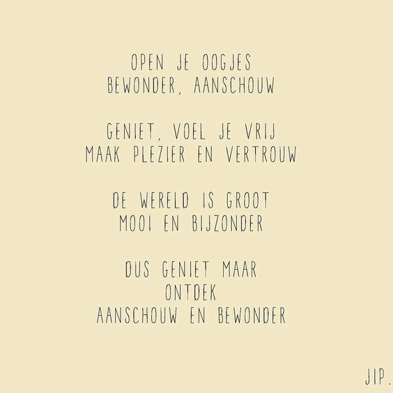 Geboorte tekstje, gedichtje van Gewoon JIP. © Een tekstje van JIP. gebruiken? Dat kan! Maar neem eerst even contact op via info@gewoonjip.nl