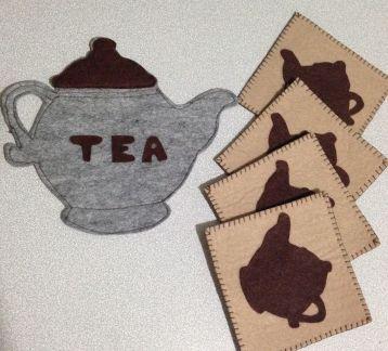 Tea Time - Bardak Altı ve Nihale Seti