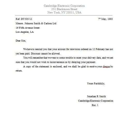Sample Business Enquiry Letter 7 Examples In Word Pdf Business