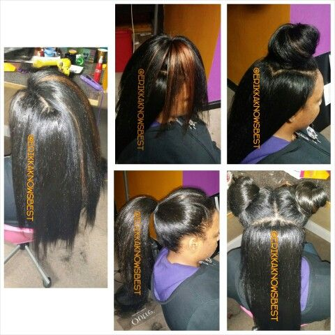 Vixen Knotless Crochet Braids With Kanekalon hair. Blended with ...