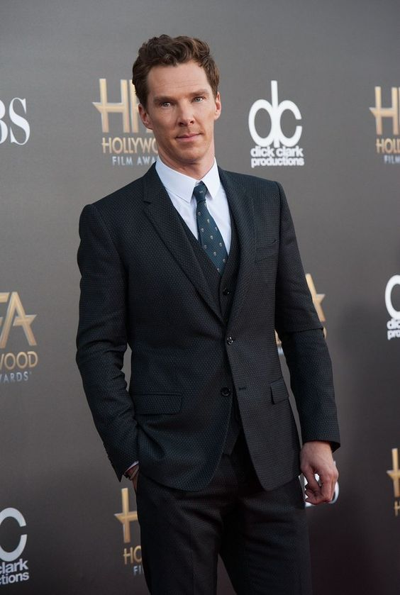 This is Benedict Cumberbatch. You probably know him, right? | 23 Reasons Why Crushing On Benedict Cumberbatch Is Madness: