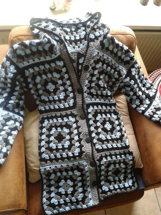 Granny Hoody self made