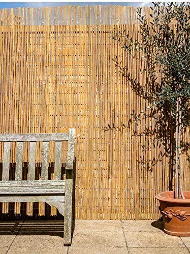 Canisse En Latte De Bambou 4m X 2m En 2020 Canisse Bambou Et