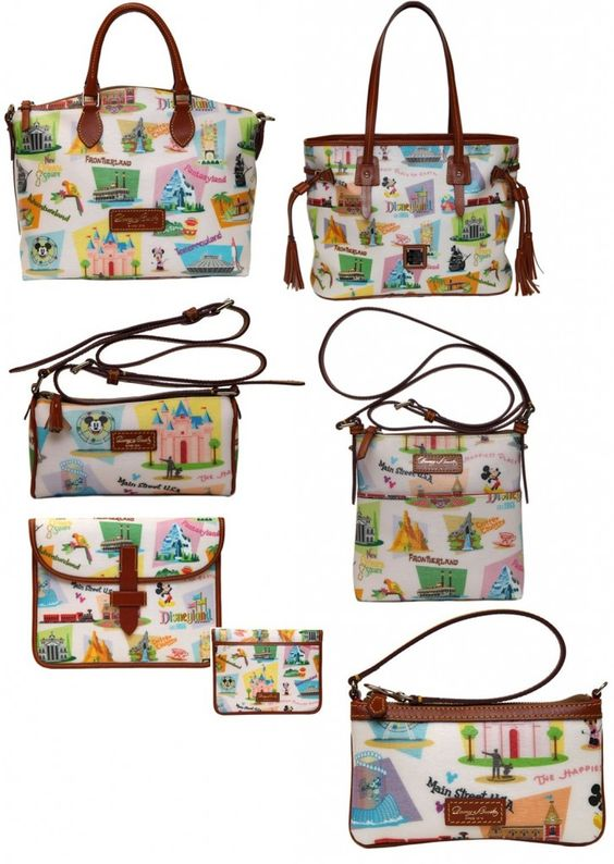 Dooney and Bourke Retro Disneyland Purses - Perfect for your next Disney vacation.