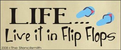 Live it in Flip Flops