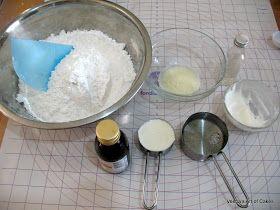 Homemade Buttercream Fondant  (no marshmallows & less sugar). kids love it, always a good!