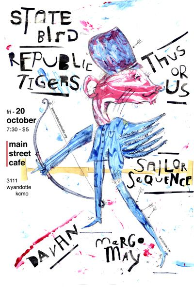 State Bird / The Republic Tigers / Thus Or Us / Sailor Sequence / Margo May / Davan (No. 1)