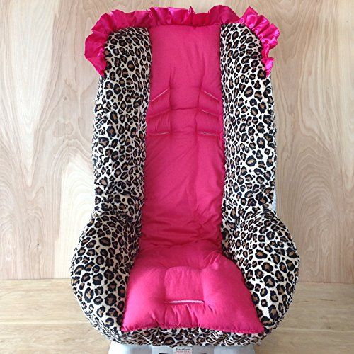 Toddler Car Seat Cover Hot Pink Large Print Cheetah Cotton Standard *** Check out this great product.