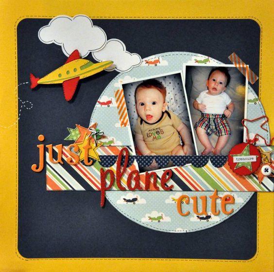 Just Plane Cute - Scrapbook.com