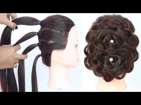 Latest Hairstyle With Trick New Hairstyle For Girls Hair Style Girls Easy Hairstyles Youtube Hair Styles Easy Hairstyle Video Hair Videos