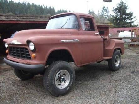 55 chevy truck 4x4 - Google 検索