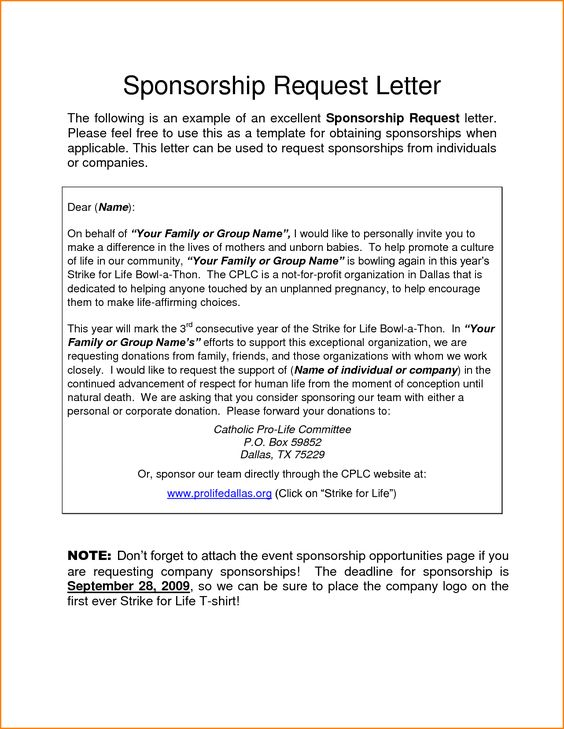 sponsorship letter sample mple request letters requesting - corporate sponsorship letter