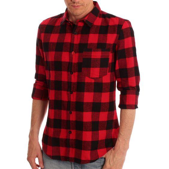 CLOAK Red & Black Talihina Checked Shirt www.ark.co.uk #menswear #aw13 #style #shirts #lumberjack