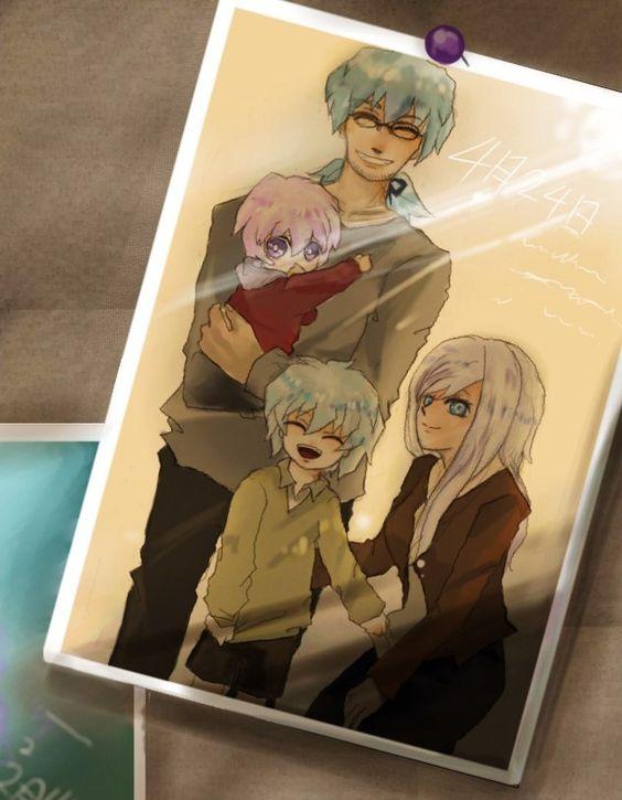 ryou bakuras family his little sister amane his father