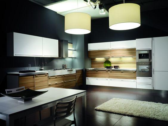 Modern kitchen look - sleek and open  #kitchendesign #homerenovation #Gorgeouskitchen #renovation