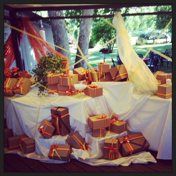 Matrimonio giallo arancio #wedding