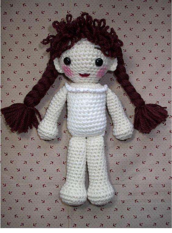 Crochet dolls, Dolls and Crochet on Pinterest