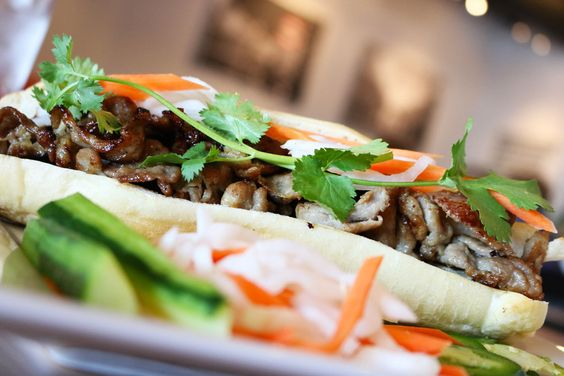 Cali Grill's Banh Mi with Grilled Pork