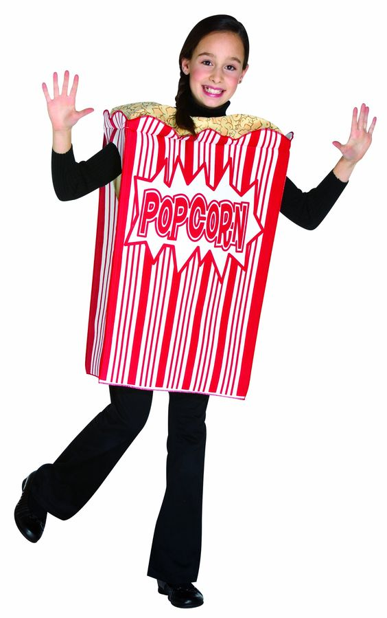 Rasta Imposta Movie Night Popcorn Children's Costume, 7-10, Red. It is Brand new. One Piece Tunic. 100% Polyester. Spot clean only.