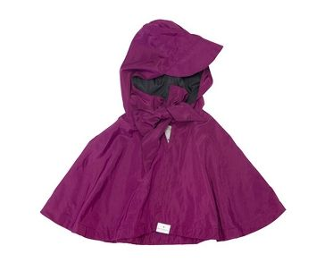 Fuschia Waterproof Mini Cape $49 http://cyclestyle.com.au/shop/capes/fuschia-waterproof-mini-cape/
