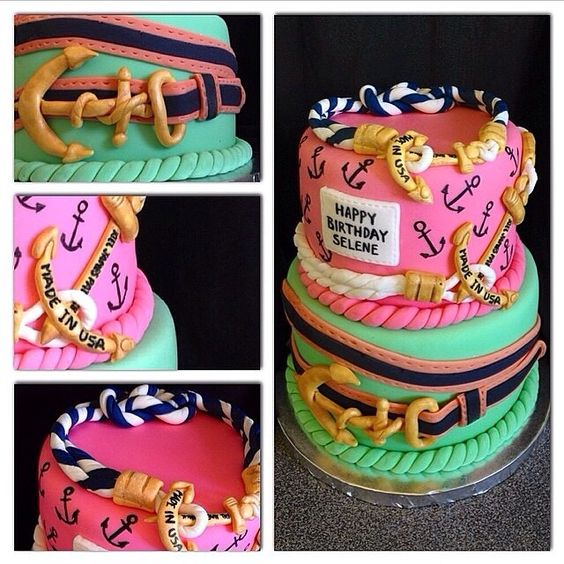 Anchor cake ❤️⚓️
