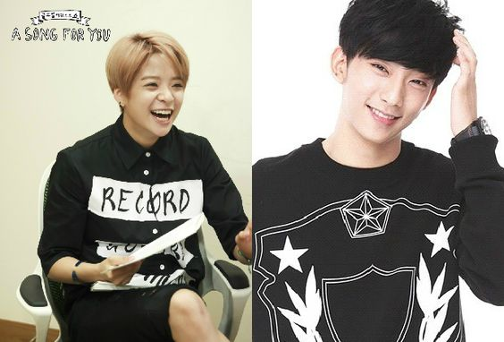 "f(x)'s Amber and B1A4's Gongchan Confirmed to Host ""AS4U,"" Third MC to Be Revealed"