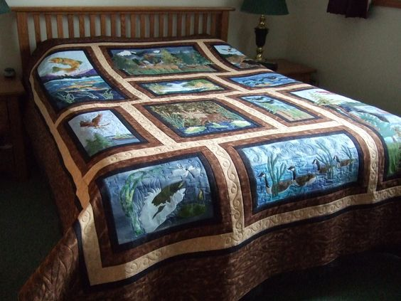 Quilt Wildlife Quilts And Quilt Patterns On Pinterest