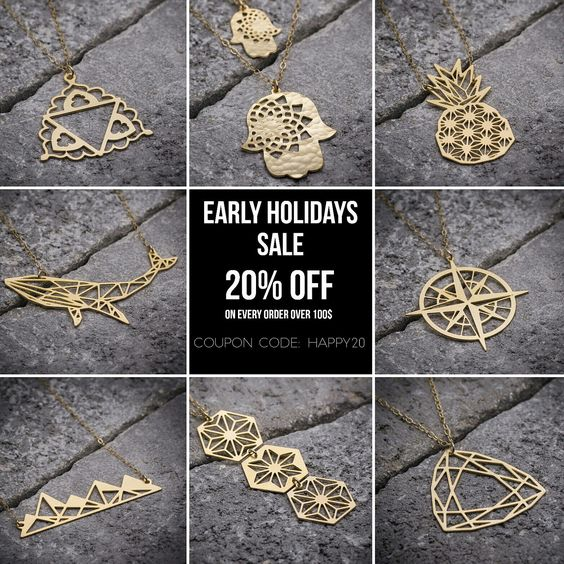 Early holidays sale! 20% off coupon code. Enjoy!
