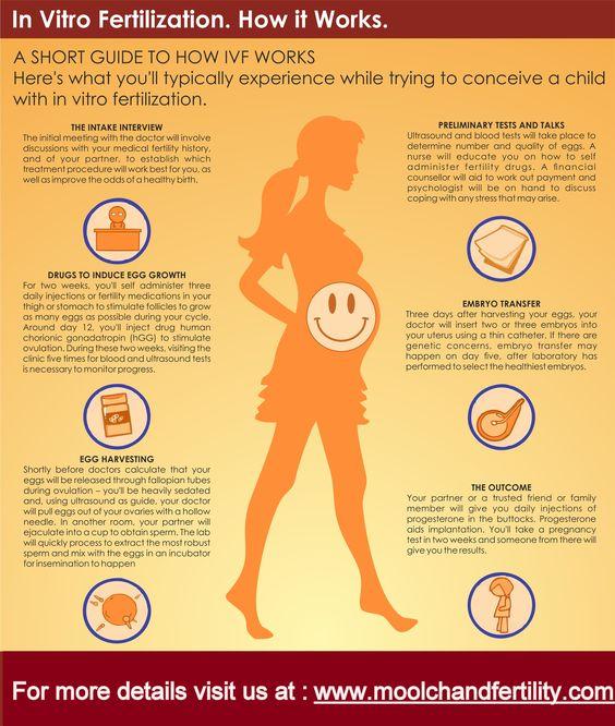http://moolchandfertility.com #IVF  (In Vitro Fertilization ). How it works :