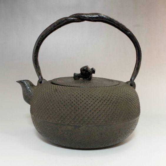 Nanbu Tetsubin - Japanese Iron Tea Kettle #2053 - ChanoYu online shop