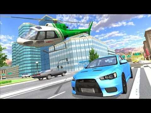 Helicopter Flying Simulator And Fast Cars Driving Car Chase Game Android Gameplay Android12games Youtube Fast Cars Truck Games Taxi Games