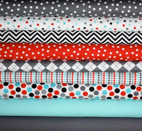 CUTE fabric.  May have to get some of this.