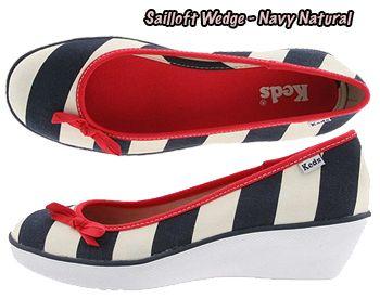 Sailor Wedge Keds