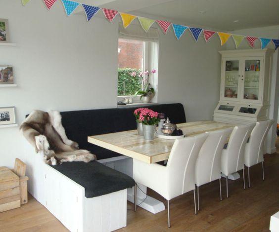 Eetbank Keuken : Als afscheiding tussen keuken en woonkamer. – inrichting Pinterest