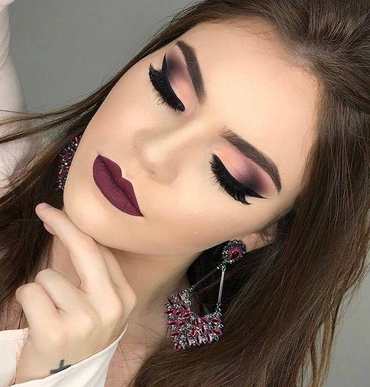 ماسكارا ظل عيون Bestchoicesrr كونتور اطلالة ايشادو مكياج Foundation Eye Shadow Bestchoice Eye Makeup بلاشر ال Purple Makeup Makeup Stunning Makeup