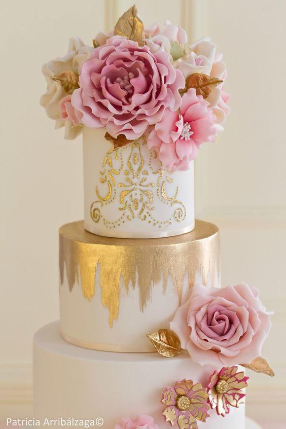 Tartas de boda pastel de quince
