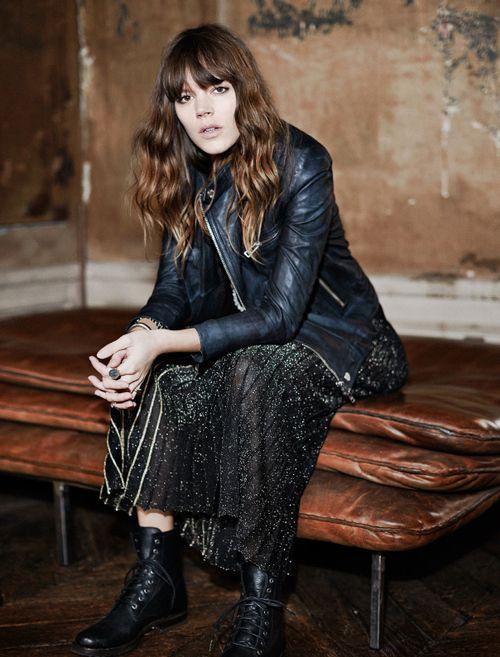 Freja Beha Erichsen for Glamour France August 2014