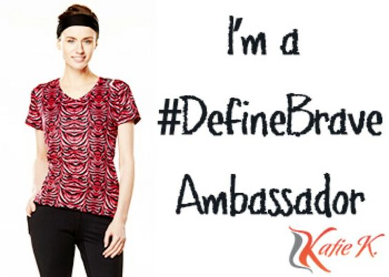 Happy to be an ambassador for the new Katie K Activewear line! ❤ #definebrave