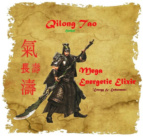 Energy & Endurance: Mega Energetic Elixir by Qilong Tao (Unisex, Herbal) #QilongTao