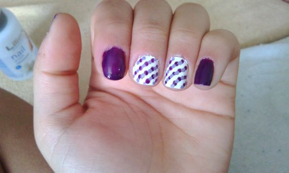 Purple dots <3