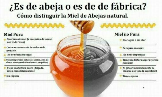 Como distinguir miel pura