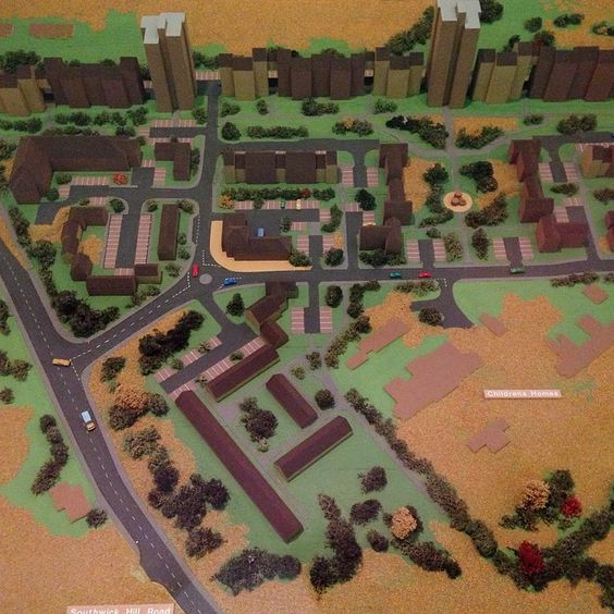 """I LOVE TINY BUILDINGS. Rf #Map #Model #Portsmouth"""