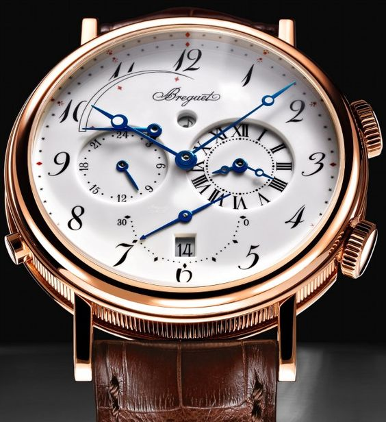 """I love it when enamel dials turn out this nice. Breguet offers up a new version of the several year old Reveil du Tsar alarm watch with this enamel dial that is available only in the boutiques. Expect more and more """"boutique specials"""" in stores to attract customers in there instead of other dealers or the Internet. $36,400."""