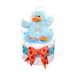 Quacking Duck Mini Diaper Cake