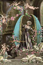 Easter Faberge Egg Lady - New 4x6 Vintage Image Photo Print - EA012