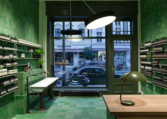 Monday Edit | Aesop Mitte, Berlin, by Weiss-Heiten - Share Design Inspiration Blog - Home, Interior Design, Architecture, Design Ideas & Des...