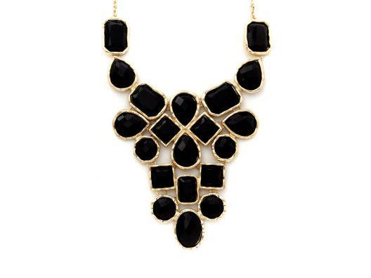 Multi-Stone Statement Necklace