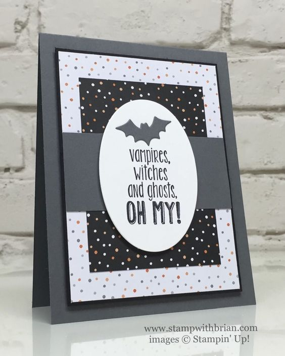 Suite Seasons, Halloween Scenes Edgelits, Stampin' Up!, Brian King, FMS251