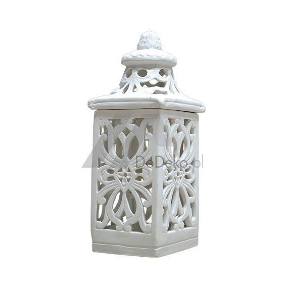 Lucerny keramické - keramické sviečka s vitrážami ako dekorácia pre domov a na…